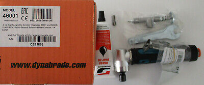 Dynabrade 46001 0.4hp Right Angle Air Die Grinder 15000 Rpm