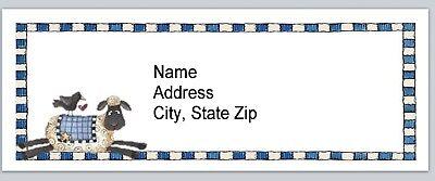 Personalized Address Labels Primitive Crow Sheep Buy 3 Get 1 Free Bx 571