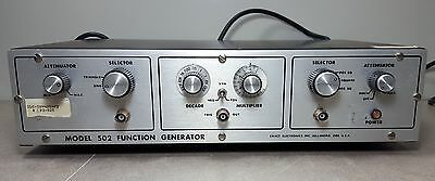 Exact Electronics Model 502 Function Generator