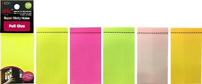 4a Sticky Full Adhesive Notes Memo Reminder Self-stick Notes Office Supplies