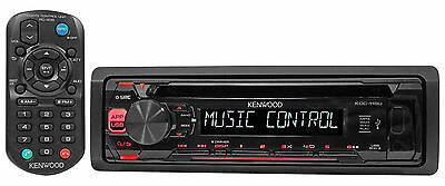 $69.99 - Kenwood KDC-115U In-Dash 1-Din Car CD Player Receiver Stereo MP3/USB/Aux+Remote