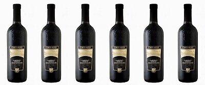 6 Flaschen CABERNET IGT Veneto, Italia , 0,75 Liter 12% Vol. Rotwein aus Italien