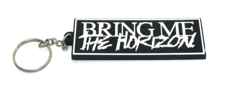 BRING ME THE HORIZON RUBBER KEYCHAIN KEYRING