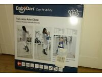 BabyDan Pressure Fit Safety Gate / Stair Gate - Brand New in Box