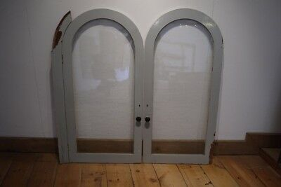 RECLAIMED ARCHED TOP GLAZED DOORS