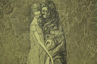 Ernst FUCHS (geb. 1930) Radierung aus dem Zyklus Samson Kunst  online kaufen