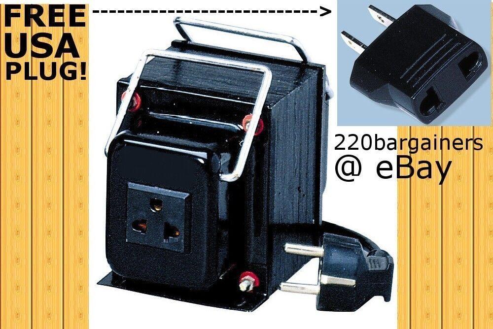 Simran 1000 Watt Voltage Transformer 110-220v Heavy Duty Ste