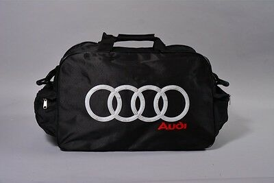 NEW AUDI BLACK TRAVEL / GYM / TOOL / DUFFEL BAG banner flag