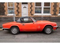 Triumph Spitfire, MOT July, scruffy but totally sound