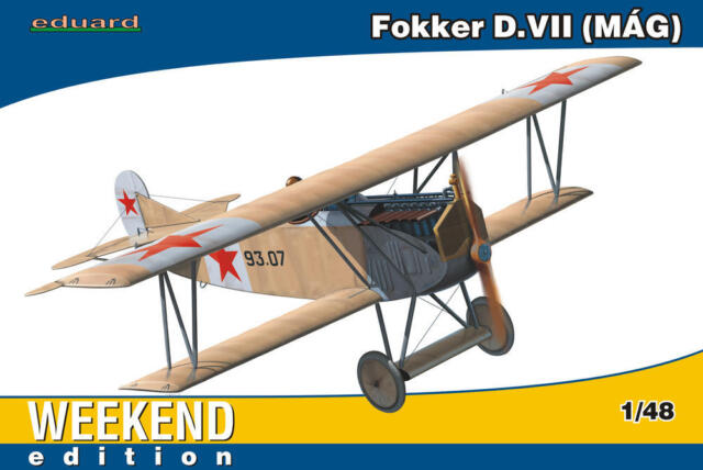 eduard - Fokker D.VII MAG 93.07 Hungarian red Army 1919 Modell-Bausatz - 1:48