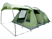 Tent - Vango Odyssey 500SC with Attached Sun Canopy, Green