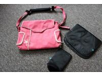 Pink Wallaboo Changing Bag