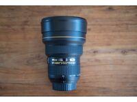 Nikon 14-24mm Nikkor Af-S f2.8 G ED wide angle lens