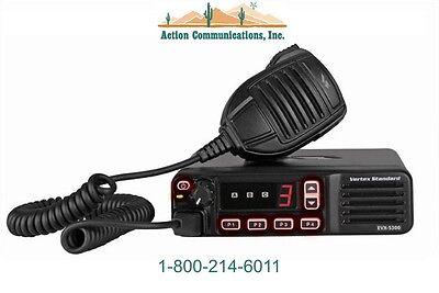 New Vertexstandard Evx-5300 Uhf 450-512 Mhz 25 Watt 8 Channel Mobile Radio