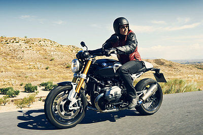 Nicht nur optisch ein Renner: die BMW R nineT. (© BMW)