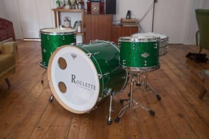 Custom Drum Kit, Roulette Custom Drums Coburg Moreland Area Preview