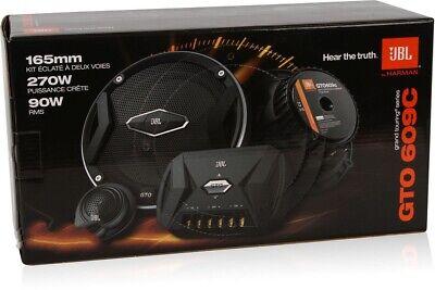 "JBL GTO609C 6.5"" 2-Way GTO Series Component Car Audio Speaker System NEW"
