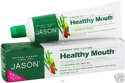 JASON NATURAL - Healthy Mouth Tartar Control Fluoride-Free Toothpaste - 4.2 oz