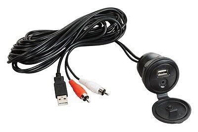 Jensen MS30 Waterproof 80W Radio Antenna AM/FM iPod MP3 USB