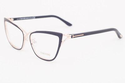 e9db3168dff6 Tom Ford 5272-005 Rose Gold Black Eyeglasses TF5272 005 53mm