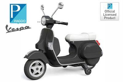 Lizenz Vespa Roller Scooter Kinder Motorrad mit Stützräder Elektro Auto