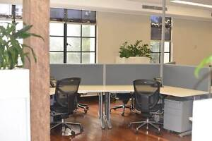 Modern Open Plan Shared Offices, Workstation for 6 people Sydney City Inner Sydney Preview