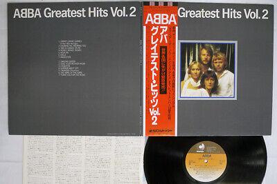 ABBA GREATEST HITS VOL.2 DISCOMATE DSP-5113 JAPAN OBI VINYL LP