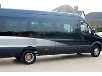 Mercedes Minicoach, 17 Seats. LOW MILEAGE, AUTO, David Fishwick Coach Conversion. Mercedes Minibus
