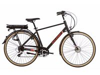 Raleigh Array E-Motion 770c electric men's bike.