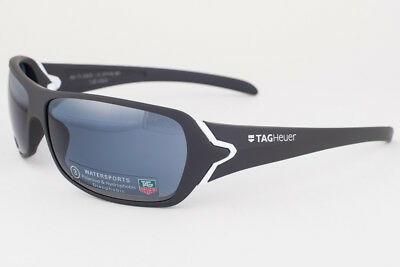 Tag Heuer Team USA Gray & White / Blue Watersport Sunglasses 9202 413
