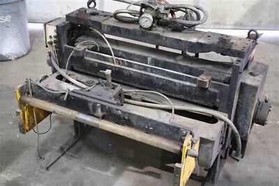 18 Dimeco Press Mounted Servo Feeder Yoder 53618