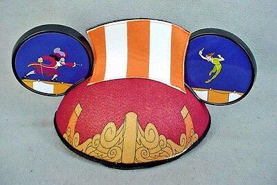 Disneyland PETER PAN Captain HOOK Adult Ears Ear Hat NEW - Captain Hooks Hat