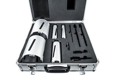 Jeremywell 11-piece Dry Diamond Core Drill Bit Set Sizes 1.5 2 2.5 4.5 5