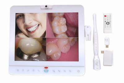 15 Inch Wireless Dental Monitor Intra Oral Camera System With Lcd Holder Md1500w