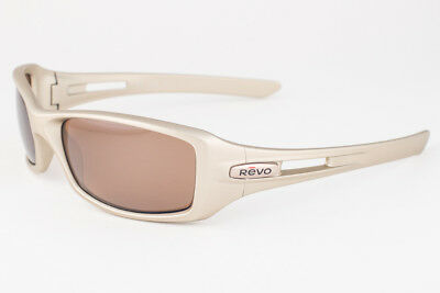Revo 4039-06 Red Point Platinum Bronze Polarized Sunglasses