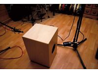Cajon player looking to join singer or duo for acoustic shows in the Yorkshire and Lancashire area