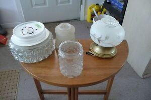 Fixtures - Globes pour fixtures - Matériel électrique