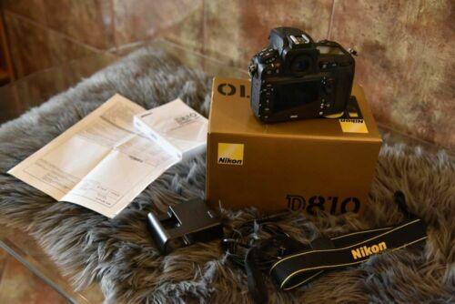 Nikon D810 36.3MP DSLR Camera - Black (Body Only)
