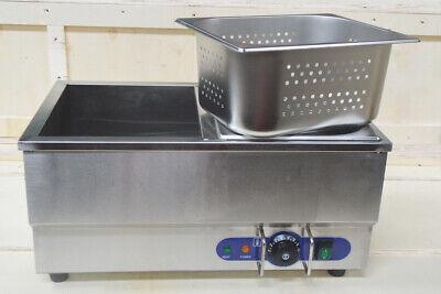 Techtongda Hot Dog Steamerbun Warmer 110v Commercial Food Grade Stainless Steel