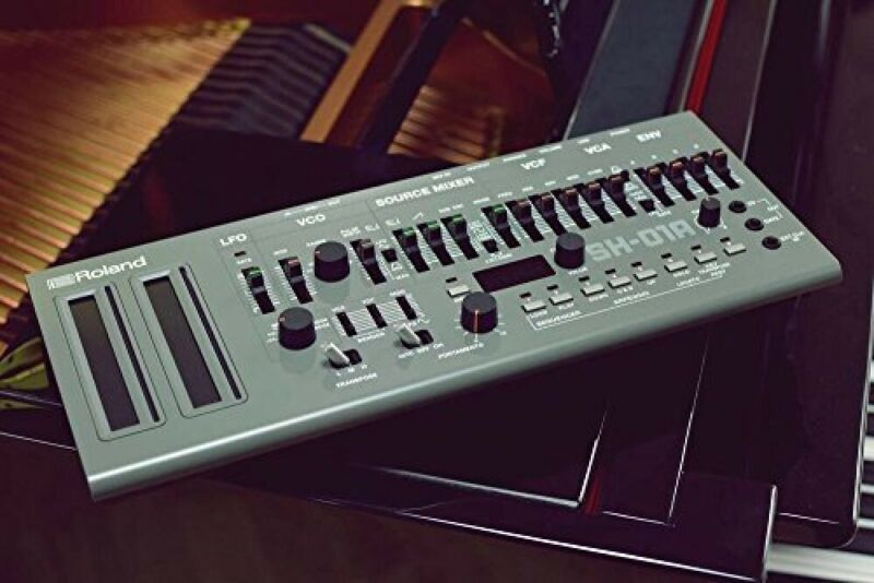 Roland synthesizer SH-01A Boutique series BLACK compact Audio equipment