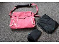 Pink Wallaboo Changing Bag