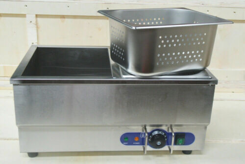TechTongda 110V Commercial Hot Dog Steamer & Bun Warmer Long Service Life New