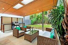 Outdoor Wicker Lounge Suite with glass covered coffee table Surfers Paradise Gold Coast City Preview
