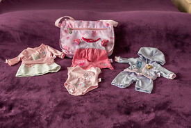 Baby Born Changing bag and outfits