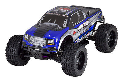 RC Trucks Gas Powered Cars Nitro Fuel 4x4 Monster Truck Redc