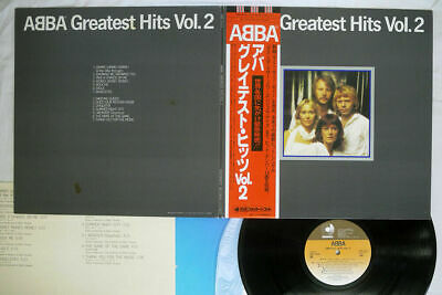 ABBA Greatest Hits Vol. 2 Discomate ‎DSP-5113 Japan OBI Audiophile Vinyl NM