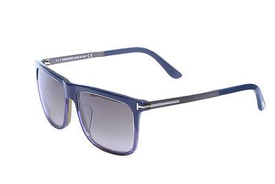 Tom Ford Karlie Dark Blue / Brown Sunglasses TF392 92J (Tom Ford Karlie)