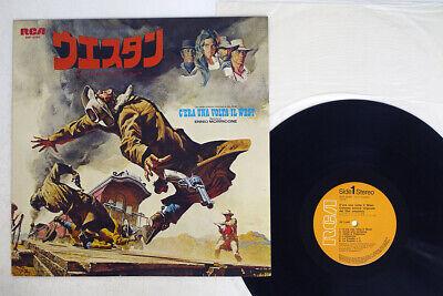 OST(ENNIO MARRICONE) C'ERA UNA VOLTA IL WEST RCA SHP-6090 Japan VINYL LP