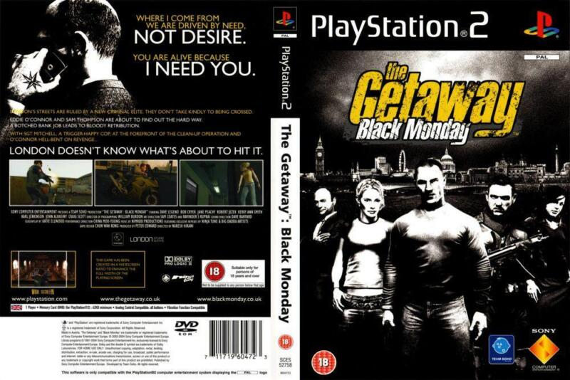 The Getaway: Black Monday - gra na PS2