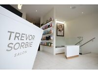Free hair colouring services and blow dry, hair models required at Trevor Sorbie salon